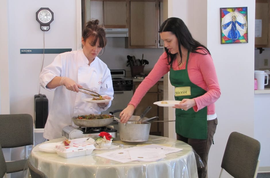 North Fork Heights Slideshow Cooking Demo