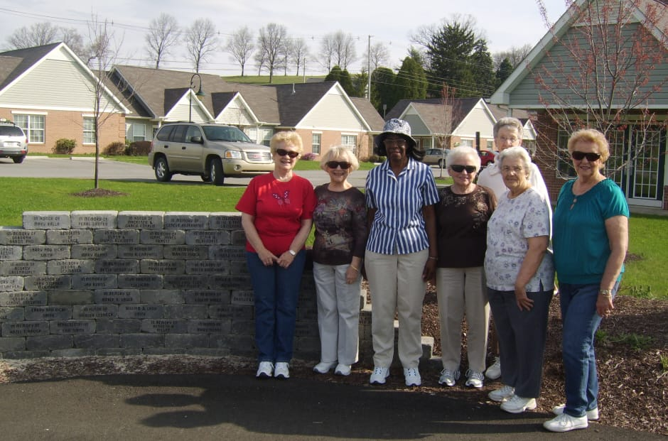 Village Walking Trail group