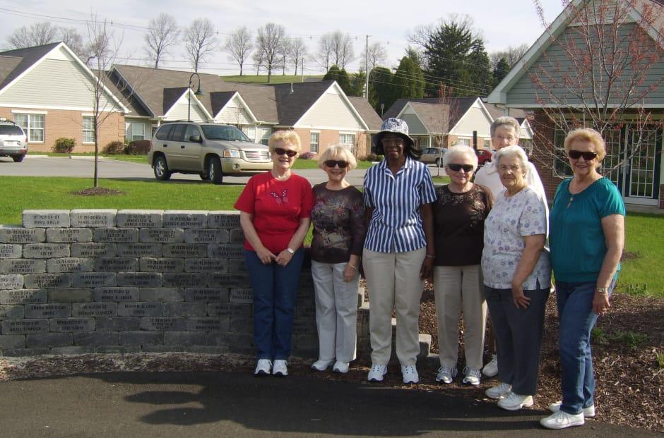 Village Walking Trail group