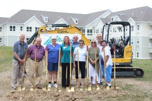 group ready to begin second phase of construction